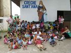Kinder unseres Patenkindergartens in Brasilien